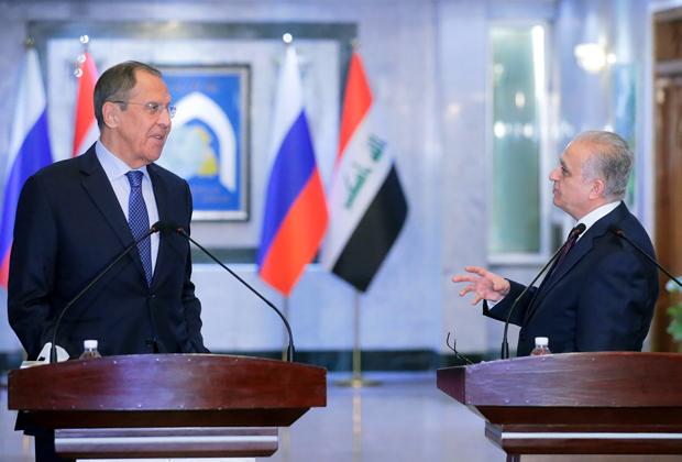 Сергей Лавров и Мухаммед Али аль-Хаким