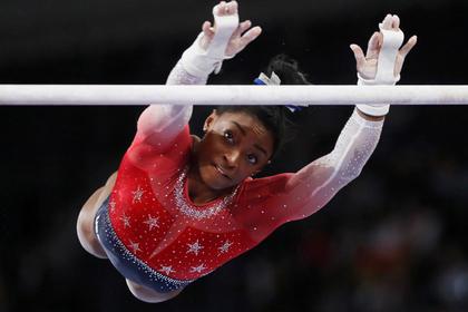 Американская гимнастка побила рекорд Хоркиной