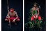 По древнему обычаю перед обрядом посвящения жители Амазонии наносят на тело символические рисунки — солнце и звезды, бабочки и следы ягуаров, или просто геометрические фигуры. Так же поступают и перед другими важными событиями, например, свадьбой. Для украшения тела используют черный краситель, который делают из растущего в местных джунглях дерева. «Узоры на коже — символ нашей связи с природой», — объясняет одна из женщин тембе.