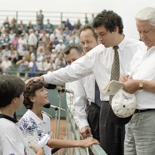 Борис Ельцин и Борис Немцов, 1994 год
