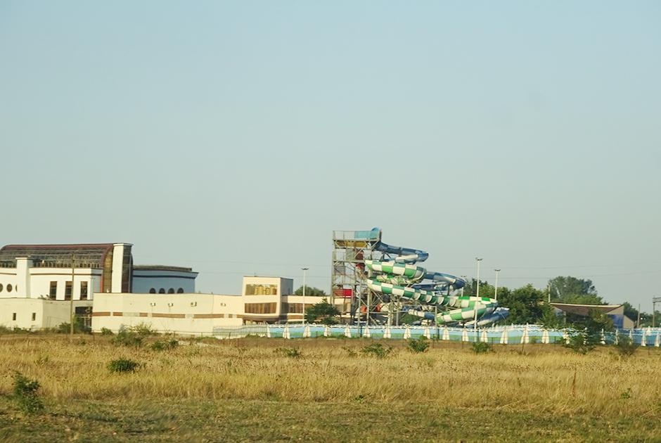 Аквапарк на месте вертолетной площадки