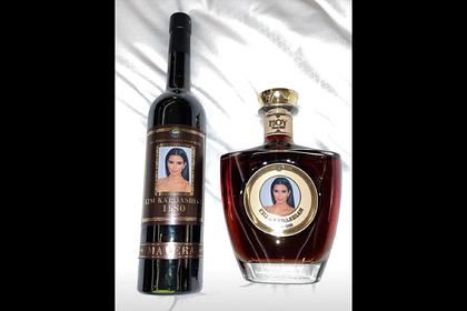 Ким Кардашьян показала армянский коньяк «Ким Кардашьян»