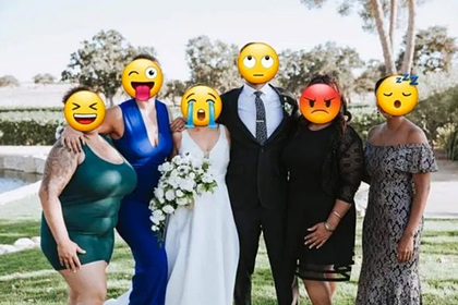 Невеста предложила денег за фотошоп живота и груди сестры на свадебном снимке