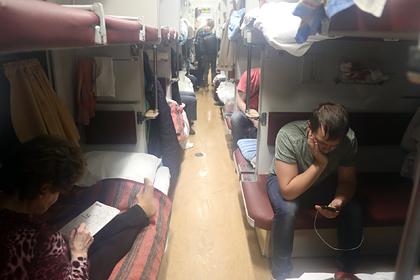 Россияне назвали поезда с самыми храпящими пассажирами