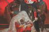 Уроженец города Грозный Аслан Бугаев работает с историями и традициями чеченского народа, и произведения его, несмотря на исторический контекст, имеют много общего с современностью — к примеру, мотив кровной мести, изображенный на полотне «Сон кровника», нет-нет да и всплывает в новостных хрониках региона.