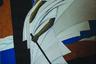 Заслуженная художница Северной Осетии София Кодоева живет и работает во Владикавказе. Автор экспериментирует с фигуративной живописью — персонажи ее полотен с тонко проработанными фрагментами фигуры, как правило, контрастируют с крупными декоративными плоскостями, которые, в свою очередь, выделяются множеством оттенков одного цвета, сами по себе превращаясь в живописный орнамент.