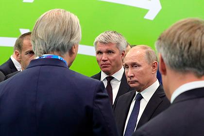 Бриллиантовая перчатка заставила Путина вспомнить о сломанном носе