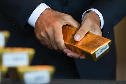 В золоте нашли верный признак мирового кризиса