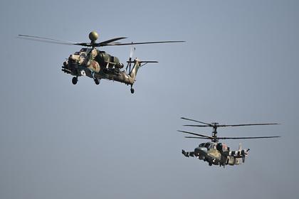 Ми-28НМ и Ка-52