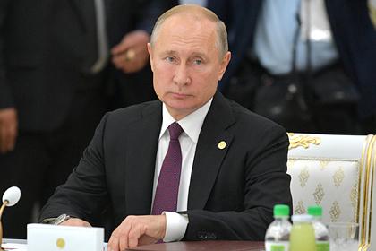 Путин назвал реальной угрозу нашествия боевиков из Сирии