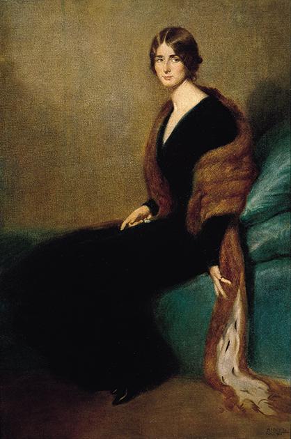 Мануэль Бенедито «Портрет Клео де Мерод», 1910