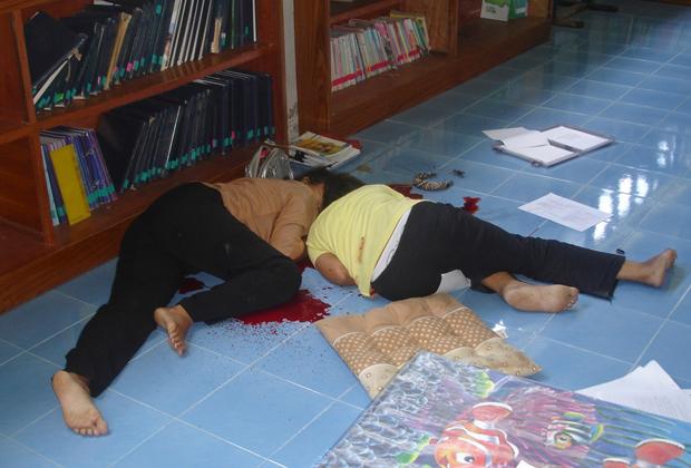 Две жертвы мусульманских боевиков на юге Таиланда, 2007 год