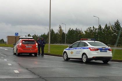 Российские инспекторы остановили беспилотный автомобиль для проверки документов