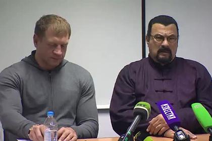 Стивен Сигал преподал урок Александру Емельяненко