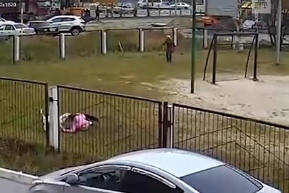 В России бультерьер напал на детей в школьном дворе