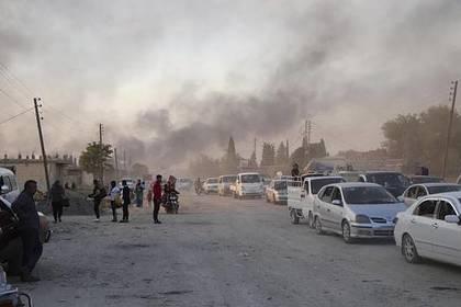 Турецкие войска захватили приграничный населенный пункт в Сирии