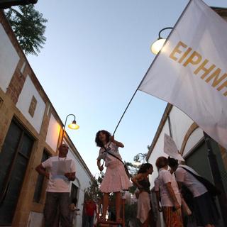 Акция за мир в Кипре