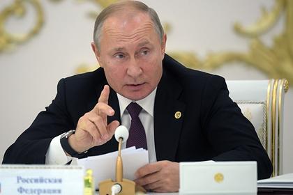 Путин назвал НАТО инструментом внешней политики США