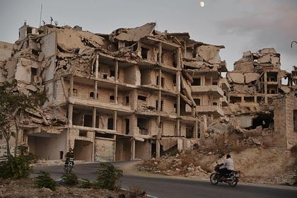 Россию обвинили в бомбежке сирийских больниц