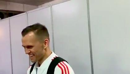 Дзюба потроллил Черышева после победы над Кипром