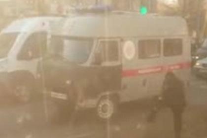 Смертельный наезд на россиян на остановке сняли на видео