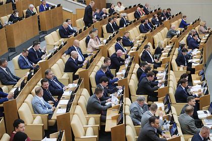 В Госдуме согласились с данными о потерях от антироссийских санкций