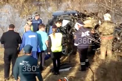 Появилось видео с места гибели мэра российского города