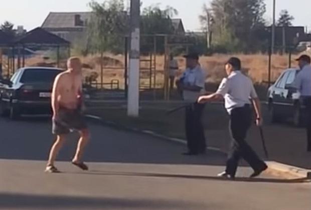 Задержание Михаила Елинского после его последнего преступления