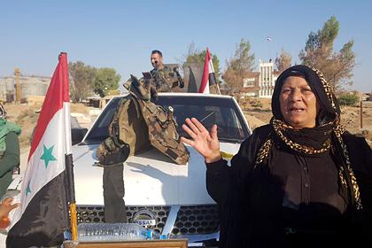 Сирийская армия зашла в Манбидж одновременно с протурецкими боевиками