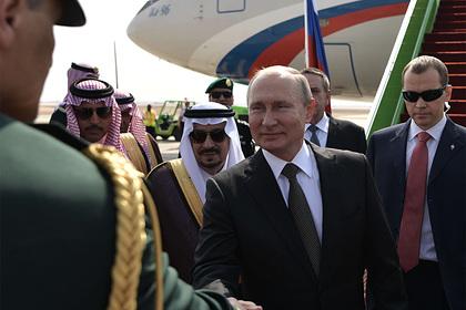 В Кремле раскрыли детали визита Путина в Саудовскую Аравию