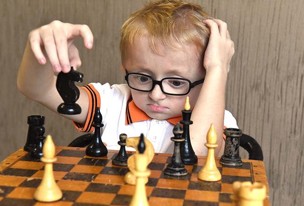 Паша Лапушкин — шахматист