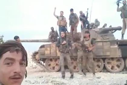 Протурецкие боевики отбили у сирийцев советский Т-55