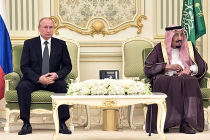 Путин и саудовский король обсудили поставки вооружения из России