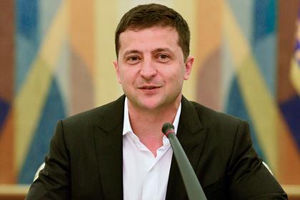 Украинцы стали меньше поддерживать Зеленского