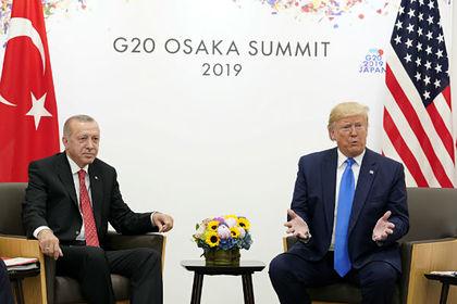 Трамп созвонился с Эрдоганом и потребовал прекратить военную операцию в Сирии