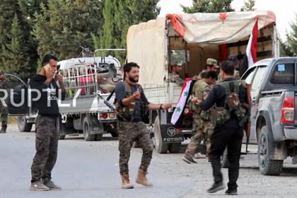 Сирийские военные встретились с отступающими силами США