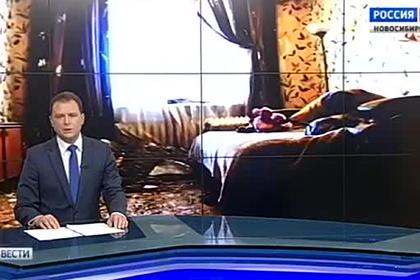 Упавший в доме россиянки потолок попал на видео