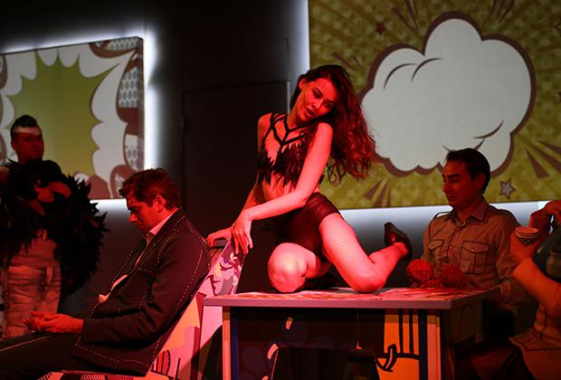 Спектакль «Черная икра» «Театра 18+»