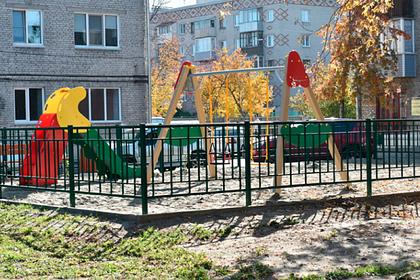 В Барнауле благоустроили дворы