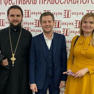 Александр Клименко, Борис Корчевников и Светлана Клименко