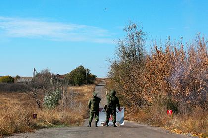 Переговоры по разведению войск в Донбассе провалились