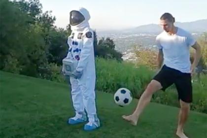 Ибрагимович показал «космический» трюк