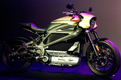 Harley-Davidson притормозил производство электробайков