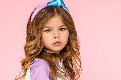 Россиянку назвали самым красивым ребенком в мире