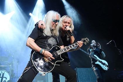 Британские рокеры Uriah Heep собрались с концертами в «российские» Киев и Минск