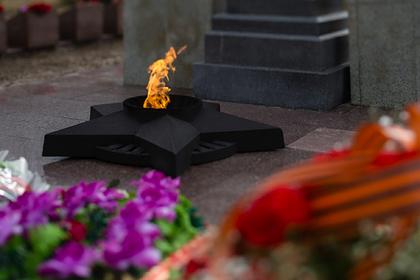 Россиянин сжег венок на Вечном огне и отправился в колонию