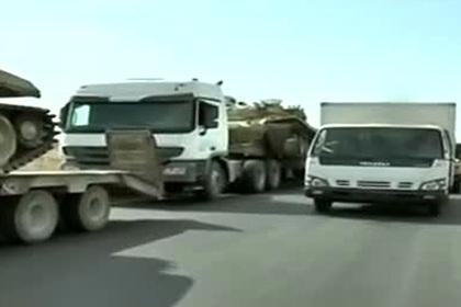 Сирийцы перебросили на передовую танки с «бровями Ильича»