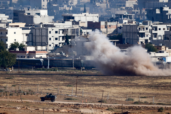 Сирийская армия заняла еще один город на границе с Турцией