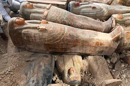 Открыта загадочная древнеегипетская гробница с мумиями внутри