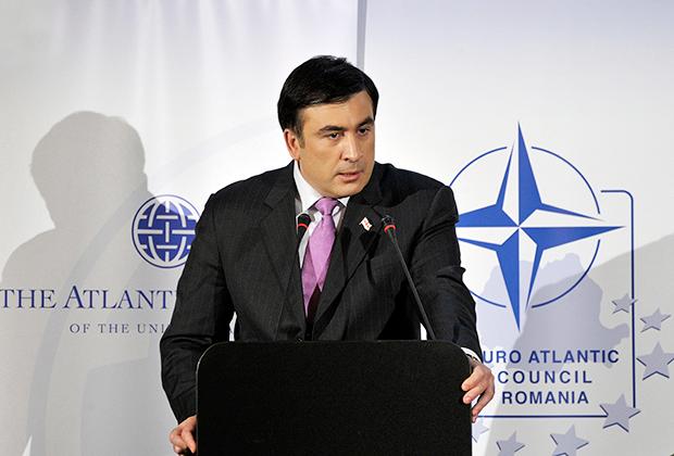 Выступление во время саммита НАТО в Грузии, 2008 год